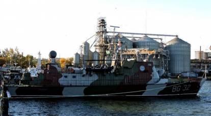 """Ukrayna tantana ile """"en güçlü gemi"""" hizmetine geri döndü"""