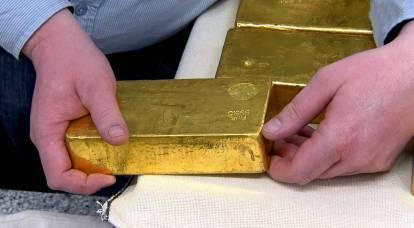 """Stampa italiana: Russia e Cina potrebbero aprire un """"fronte d'oro"""" nei confronti del dollaro USA"""