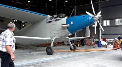 "Twin-engine monoplane: what will be the replacement for the legendary ""Corn"""