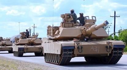 250辆美国坦克将永久驻扎在白俄罗斯边境
