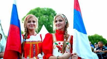 ¿Dónde son más queridos los rusos?