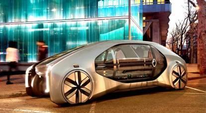 ルノーは未来の車を見せた
