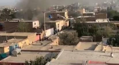 Attacco missilistico dell'aeronautica americana provoca un'esplosione a Kabul