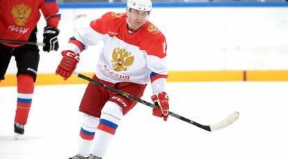 ¿Qué causó el extraño amor de Putin por el hockey?