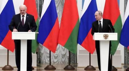Putin and Lukashenko took 28 steps towards the Union State