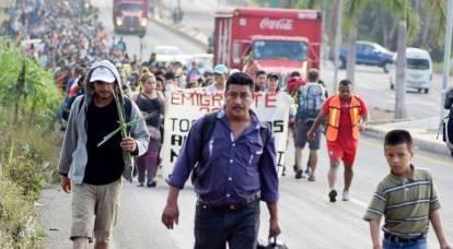 Migrant caravan has become a nightmare for trump