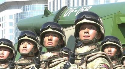 Diplomate chinois : nous devons d'abord être prêts à lancer une frappe nucléaire contre les États-Unis