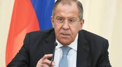 Lavrov ha divertito il pubblico confrontando la politica occidentale con l'adulterio