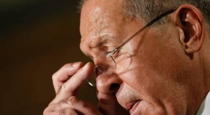 """Los estadounidenses reaccionaron a las palabras de Lavrov sobre la """"estúpida"""" política estadounidense"""