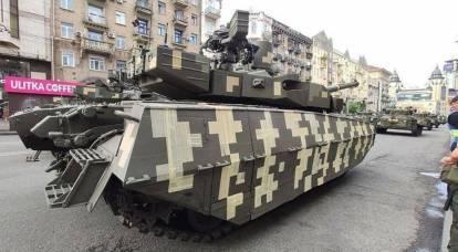 "Rusya, Ukrayna tankı ""Oplot"" un ""teknolojik"" kamuflajıyla alay etti"