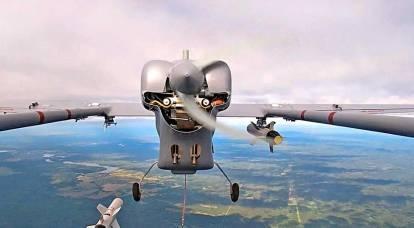 ロシアの偵察UAVは、KAB-20を使用して衝撃を受けました