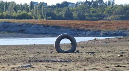 Los rusos aprecian la nueva forma de Ucrania de privar finalmente de agua a Crimea