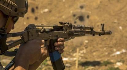 KalashNash multi-caliber shooting platform was presented in Ukraine