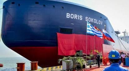 La Cina costruisce navi cisterna artiche tutto l'anno per GNL russo