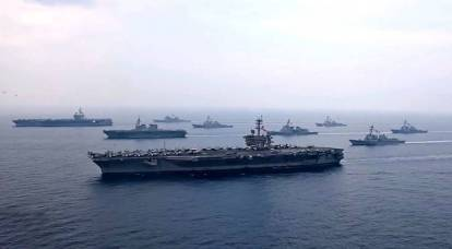 How Five Container Ships Could Defeat a U.S. Navy Aircraft Carrier Strike Group