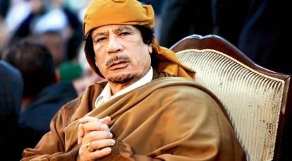 Chi ha derubato il defunto Gheddafi?
