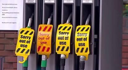 Cosa dice la crisi del carburante iniziata in Gran Bretagna?