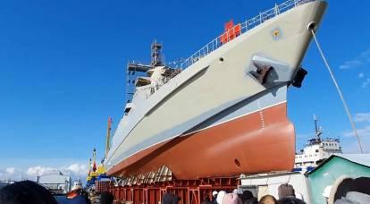 Die Krim versorgt die russische Marine weiterhin mit Patrouillenschiffen