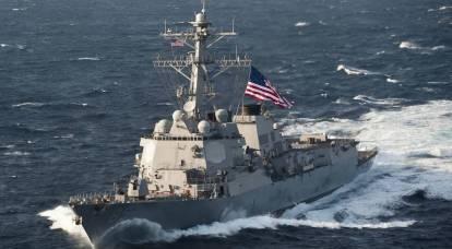 Passaggio dimostrativo di un cacciatorpediniere statunitense: una sfida che la Russia non ha notato