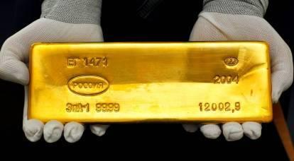 Putin non ha scommesso sull'oro per niente