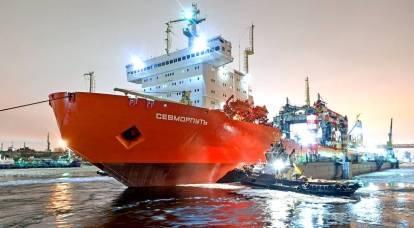 Lo scioglimento del ghiaccio metterà in discussione la sovranità russa sulla rotta del Mare del Nord