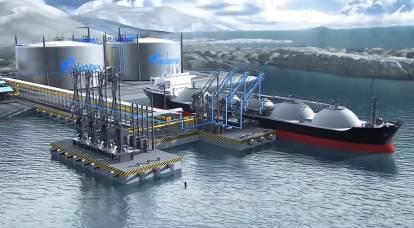 Uma TPP flutuante em gás liquefeito mudará dramaticamente a situação no Extremo Norte