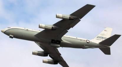L'aeronautica americana ha condotto una ricognizione vicino ai confini settentrionali della Crimea