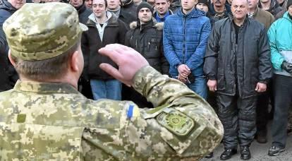 In Ucraina è iniziata la coscrizione forzata alle forze armate ucraine