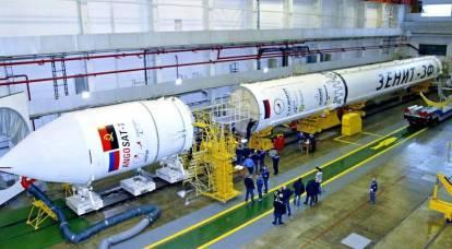 La Russia ha appeso l'Ucraina con un missile
