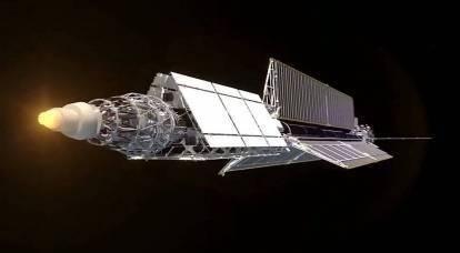"""Il rimorchiatore spaziale russo """"Zeus"""" sarà in grado di distruggere i satelliti nemici"""