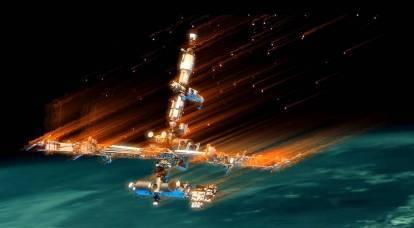 ネットワークは、地球の軌道からのISSの撤退とその洪水がどのように見えるかを示しました