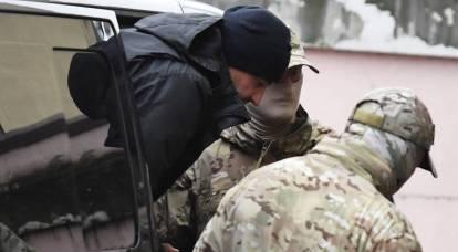 L'FSB ha condiviso i dettagli della detenzione di marinai ucraini
