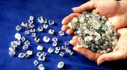 Perché la Russia vende i suoi diamanti per quasi nulla