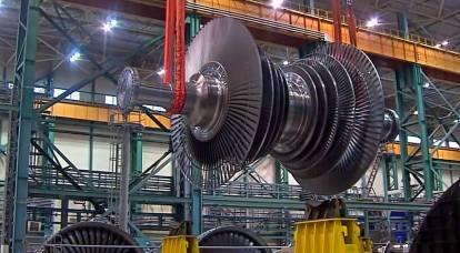 La prima turbina ad alta potenza a bassa velocità è stata costruita in Russia