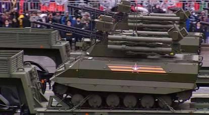 Las últimas muestras de equipo militar se mostraron en el Desfile de la Victoria en Moscú.
