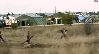 US journalists secretly filmed a Russian military field camp near Ukraine