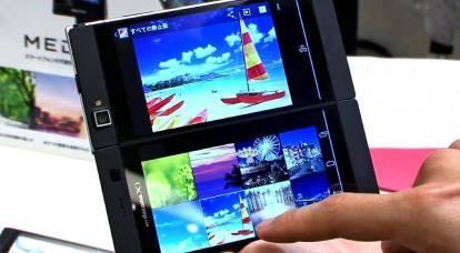 El teléfono inteligente más nuevo recibirá dos pantallas a la vez