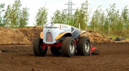 ロシアの土地はロボット「アグロボット」によって耕作されます