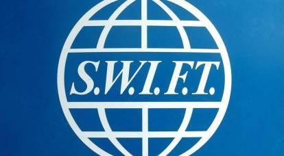 Disabilita SWIFT: perché l'Ucraina invita l'Occidente a una guerra finanziaria con la Russia