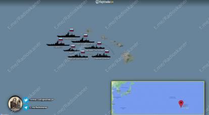 俄罗斯海军中队在距离美国珍珠港 65 公里处拦截