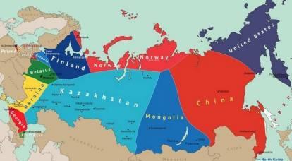 En Rusia, reaccionaron al mapa de la división de nuestro país publicado en Europa.