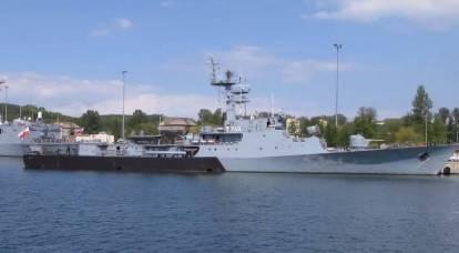 Varsavia ha notato l'importanza della flotta polacca nella lotta contro la Russia