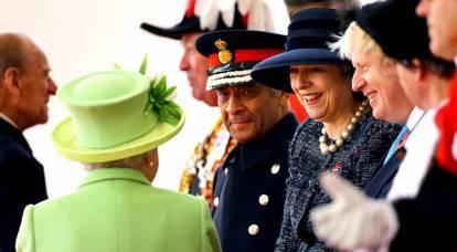 """""""Toxic lady"""" ha incorniciato la corona britannica"""