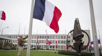 Parlamento francês pede retirada da OTAN