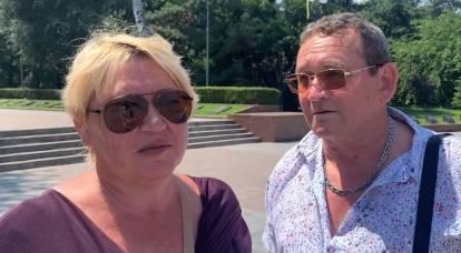 A los habitantes de Odessa se les preguntó si se consideraban rusos