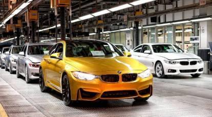 BMW se traslada a Rusia