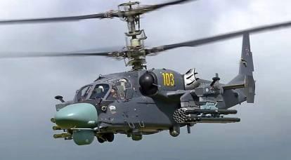 Perché la Cina ha abbandonato il proprio Z-10 pubblicizzato a favore del russo Ka-52K