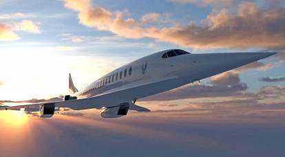 La più grande compagnia aerea preordina 15 aerei di linea supersonici Overture
