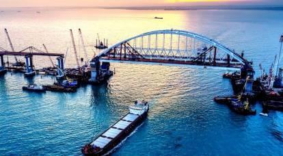 Ai tribunali ucraini sarà vietato il passaggio sotto gli archi del ponte di Crimea