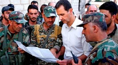 """Sullo sfondo dei preparativi per un attacco alla Siria: cosa stava facendo Assad sulla """"linea di fuoco""""?"""